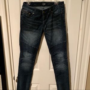 Express Moto Style Jeans